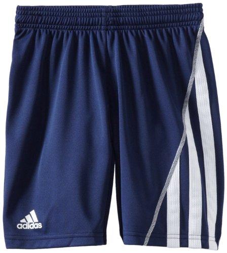 adidas Big Boys Youth Sossto Short, New Navy/White, X-Large