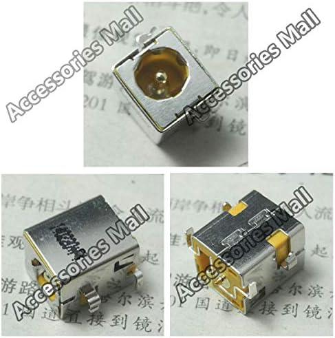 ShineBear New Power DC in Jack,DC Power Jack Connector for HP NX5000 NC6220 NC6230 V1000 NC6220 NC6230 NX6230 NC6230 NC6000 Cable Length: 50 PCS