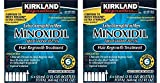 Minoxidil 5 percentage Extra Strength Hair Loss Regrowth Treatment Men, 2 Pack (6 Months Supply)