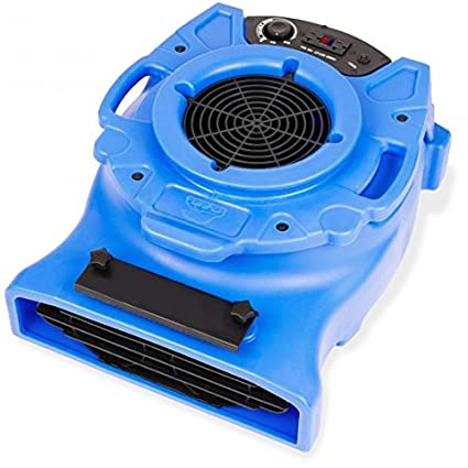 Amazon.com: B-Air VENTLO-25 1/4 HP Low Profile Air Mover Carpet Dryer Floor Fan for Home Retail Plumbing Water Damage Restoration Blue: Industrial & ...