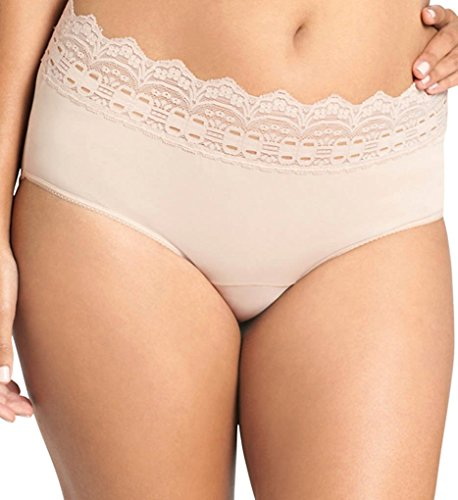 - Olga Secret Hug Scoop Hipster Panty (913) 10/French Toast