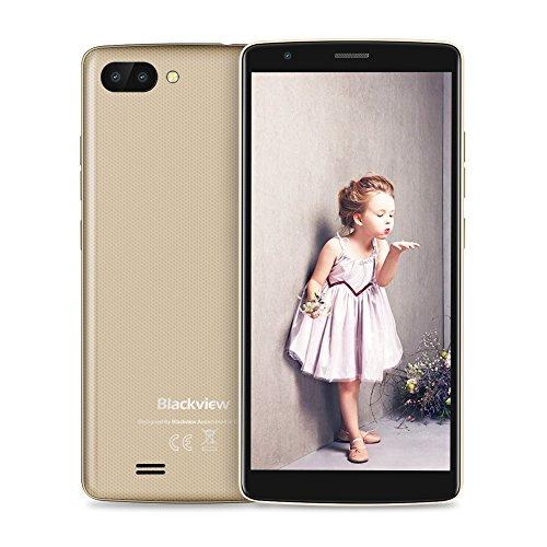 Blackview SIM Free Mobile Phones, A20 (2018) Android GO, Dual SIM Unlocked...