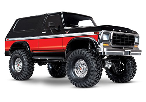Traxxas Trx-4 Ford Bronco 1/10 Trail and Scale Crawler, Red