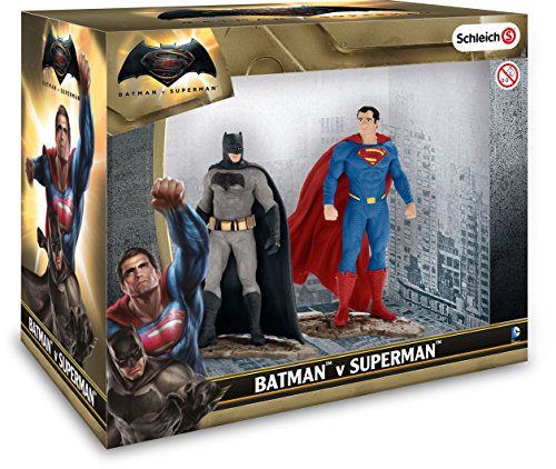 Schleich North America Batman v Superman Scenery Pack (Elf Figurine Schleich)