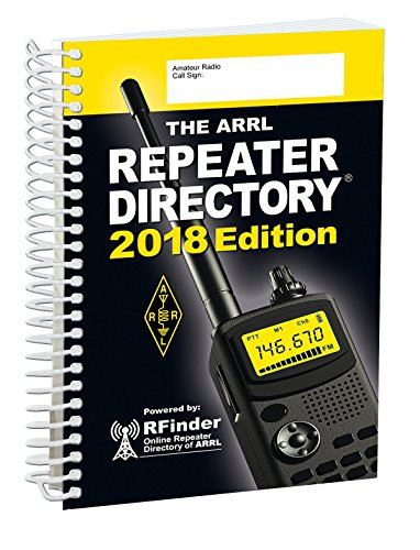 The ARRL Repeater Directory 2018 (Ham Repeater Directory)