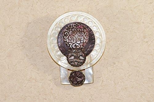 Era Button (Victorian Era Button Pin and Pendant)
