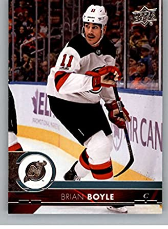 2017-18 Upper Deck Series 2  362 Brian Boyle New Jersey Devils Hockey Card 6b9223a4e