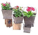 Galvanized Flower Pots (set of 4) Review