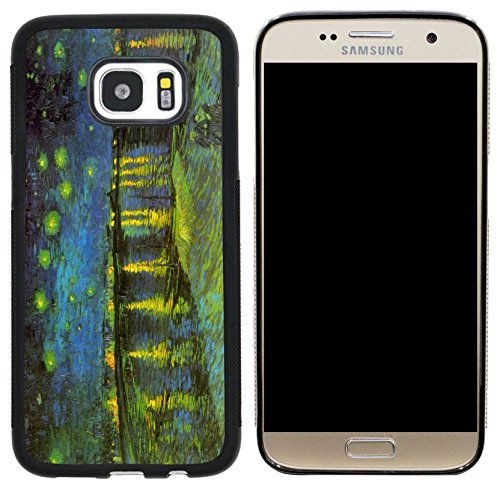 Rikki Knight Van Gogh Art Red Rhone Design Case Cover for Samsung Galaxy S7 - - Cover Rhone
