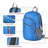 Lightweight Foldable Packable Backpack VLLCAN 20L/33L Handy Travel Daypack Water Resistant Hiking Backpack Camping Outdoor Travel