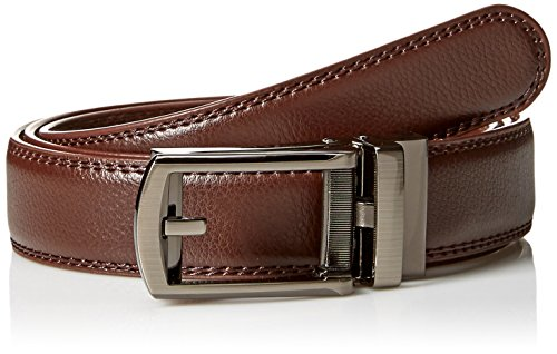 Classic Look Classic Belt (As Seen On TV Comfort Click Belt, Brown,One)