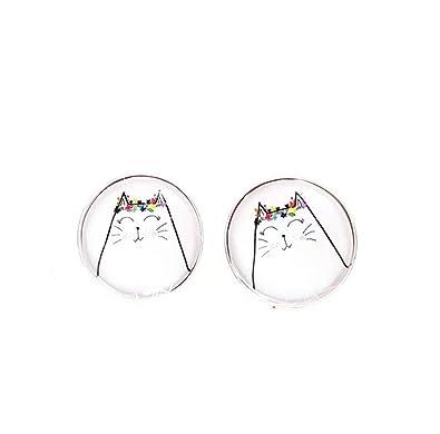 Joyas interesantes para amantes de los gatos, joyas de ...