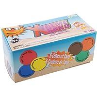 Caja de 3 libras de arena Xtreme - 1/2 libra cada una de 6 colores clásicos