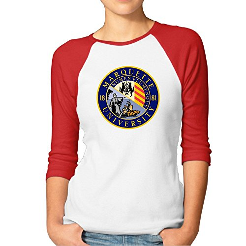 marquette-university-seal-red-raglan-sleeves-t-shirt-for-women-s