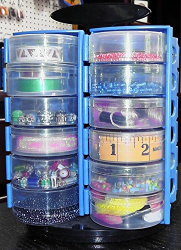 Spinning Table Top Bead Organizer w// Free Sort Tray Web Only Special