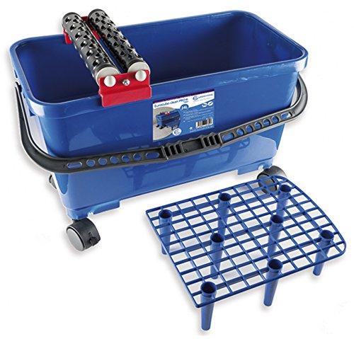 euroshrink 1460/cubo 24L Clean Blu Nero e Rosso