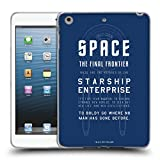 Official Star Trek USS Enterprise NCC-1701 Ships Of The Line Soft Gel Case for Apple iPad mini 1 2 3