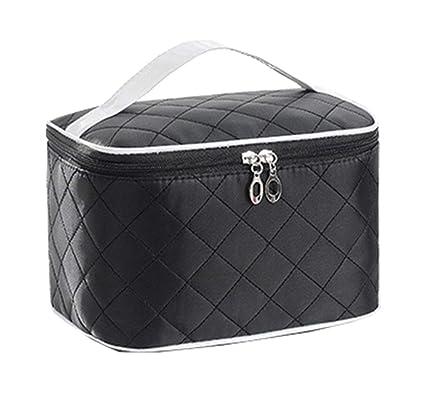 58bd09645 Bolsa de cosméticos, estuche de cosméticos portátil de viaje, caja de  almacenamiento, pincel