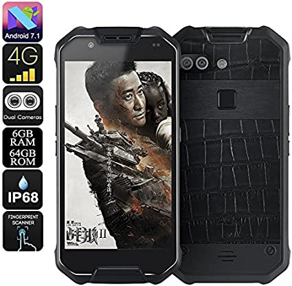 AGM X2 Rugged Phone Octa-Core Android 7.1 6GB RAM Dual-IMEI 1080p ...