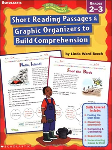 Amazon.com: Short Reading Passages & Graphic Organizers to Build ...