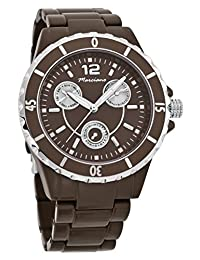 Marciano Women's | Brown Boyfriend Chronograph Style Watch With Luminous Hands| FH0036
