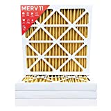 20x20x2 MERV 11 (MPR 1000) AC Furnace 2'' Inch Air Filter - 12 Pack