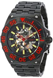 ANDROID Men's AD649BKK Corsair  Analog Automatic-Self-Wind Black Watch
