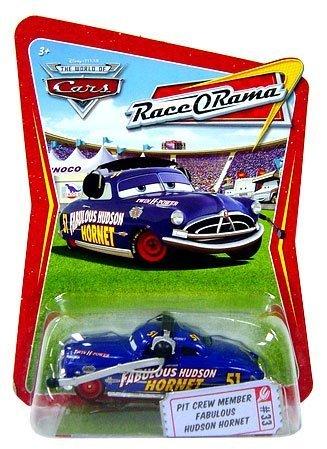 - Disney Pixar Cars Race O Rama Pit Cew Member Fabulous Hudson Hornet #33