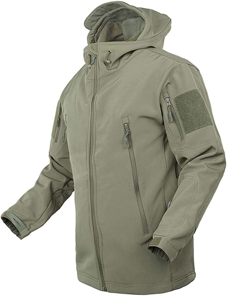 SOTF Outdoor Multi Pockets Hiking Jacket Foded Hat Climbing Coat