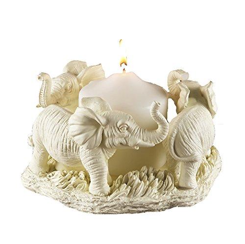 Apollo Exports International Circle of Elephants Candle Holder AP-5385