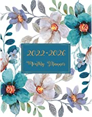 2022-2026 Monthly Planner: Weekly and Monthly Planner 2022-2026 With Inspirational Quotes