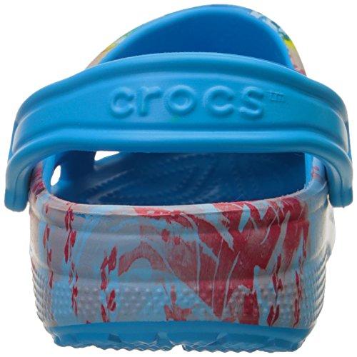 Crocs Unisex Klassisk Tropisk Ii Muldyr Havet