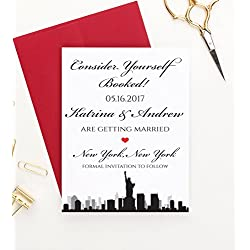Save the Date Cards Destination Wedding, Save the Date Cards for Weddings, Save the Date Wedding, Save the Date Wedding Invites, Save the Date Personalized, Your choice of quantity and envelope color