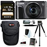 Canon PowerShot SX720 HS Digital Camera w/ 32GB SD Card & Accessory Bundle