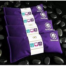 Namaste Yoga Lavender Eye Pillow - Purple - Set of 4