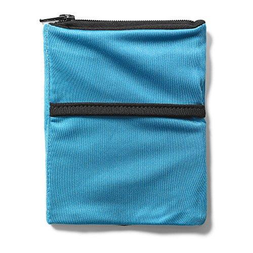 Eddie Bauer Unisex-Adult 2 Pocket Phone Banjees Wrist Wallet, Turquoise Regular (Banjees Wrist Wallets)