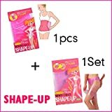 Luxfy(TM) Shape-Up,Slimming Belt,Slimming Legs,Lose Weight Belt,Slim Patch Pink Sauna Waist Belt
