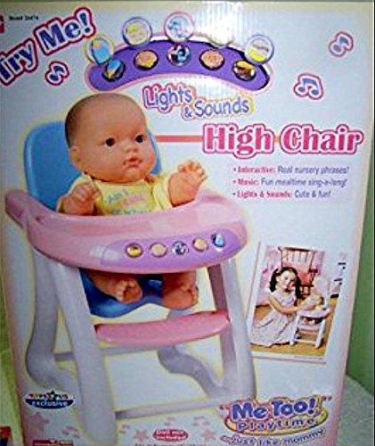 Talking High Chair/Me Too Playtime/Berenguer babies