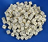 Tiny Dice: 200pc Ivory