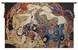 Home Furnishings, Virgin Klimt, Belgian Tapestry Wall Hanging, Wall Art Decor, 48 by 72 Inch