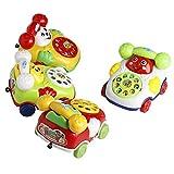 JUA PORROR Baby Toys Educational Developmental Kids Toy Gift Music Cartoon Phone