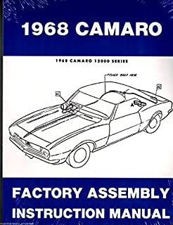 1968 Camaro Complete Set Of Factory Electrical Wiring Diagrams Schematics Guide 8 Pages 68 Chevy Chevrolet Gm Amazon Com Books