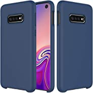 Idenmex Funda Case para Samsung S10 Plus Protector Soft Jelly, color Azul