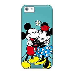 (EVr63487VVPC)durable Protection Cases Covers For Iphone 5c(mickey Classic Minnie Hd)