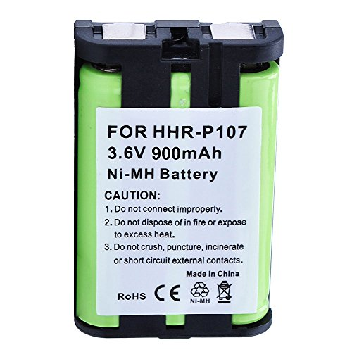 Panasonic KX-TG6052 Battery - Replacement for Panasonic Cordless Phone Battery (900mAh, 3.6V, NI-MH) by Olympia Battery (Image #2)