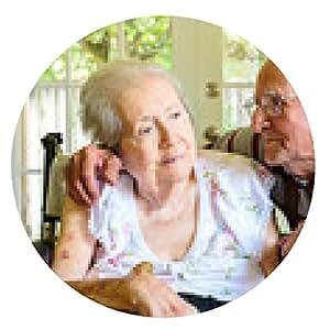 alfombrilla de ratón Mujer anciana - ronda - 20cm