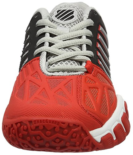 Performance Tennis 3 Garçon Red Chaussures K Fiery de JNR Omni Multicolore Black Silver Bigshot Swiss Light SwCCqz45x
