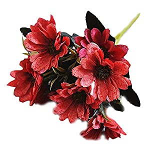 Estyle Fashion Artificial Daisy Floral Flowers Bouquet Craft Flowers Wedding Home Decor 5