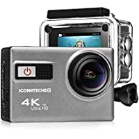ICONNTECHS IT 20 Megapixel Ultra HD 4K HDMI Sport Action Camera with 170 Degree Wide Viewing Angle Waterproof DV Camcorder, Gray