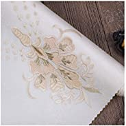 Wallpaper Wall Covering Embroidery Waterproof Seamless Bedroom Living Room TV Backdrop Wall Cloth Price is 1 S